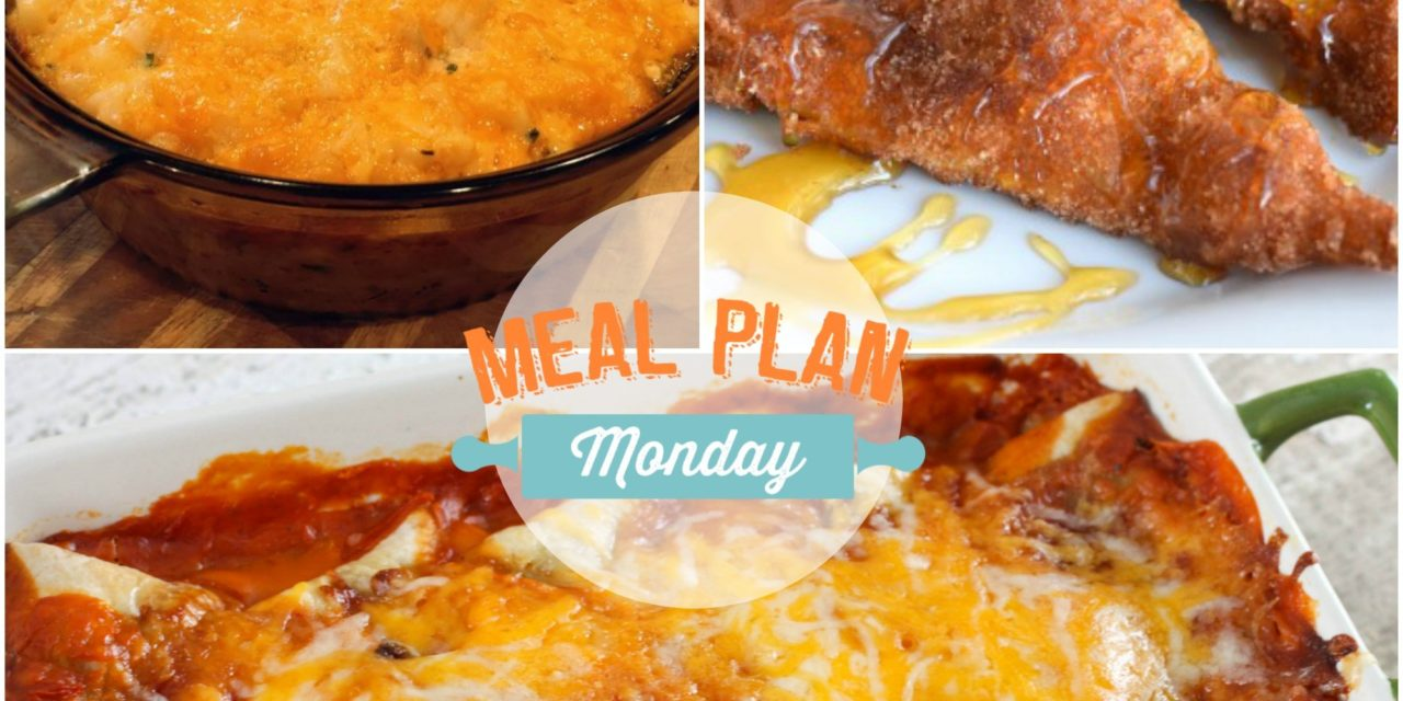 Meal Plan Monday #59~Burrito Style Beef Enchiladas