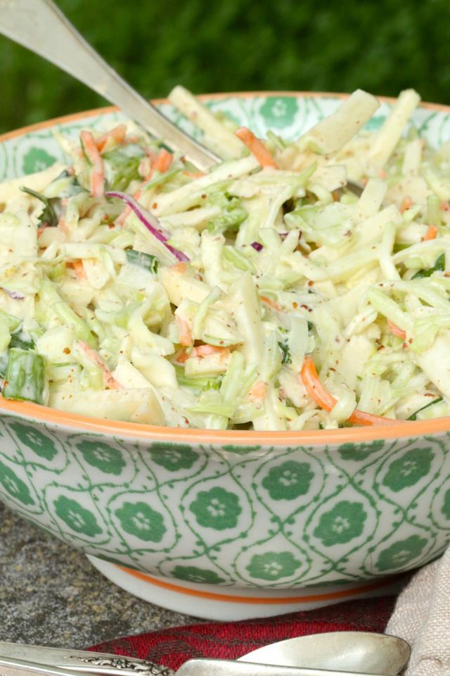 coleslaw with apples