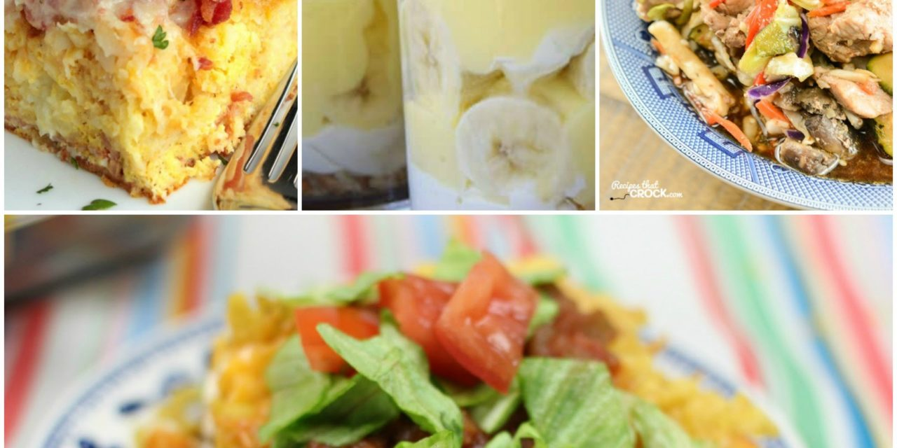 Meal Plan Monday #63 ~ Taco Pie