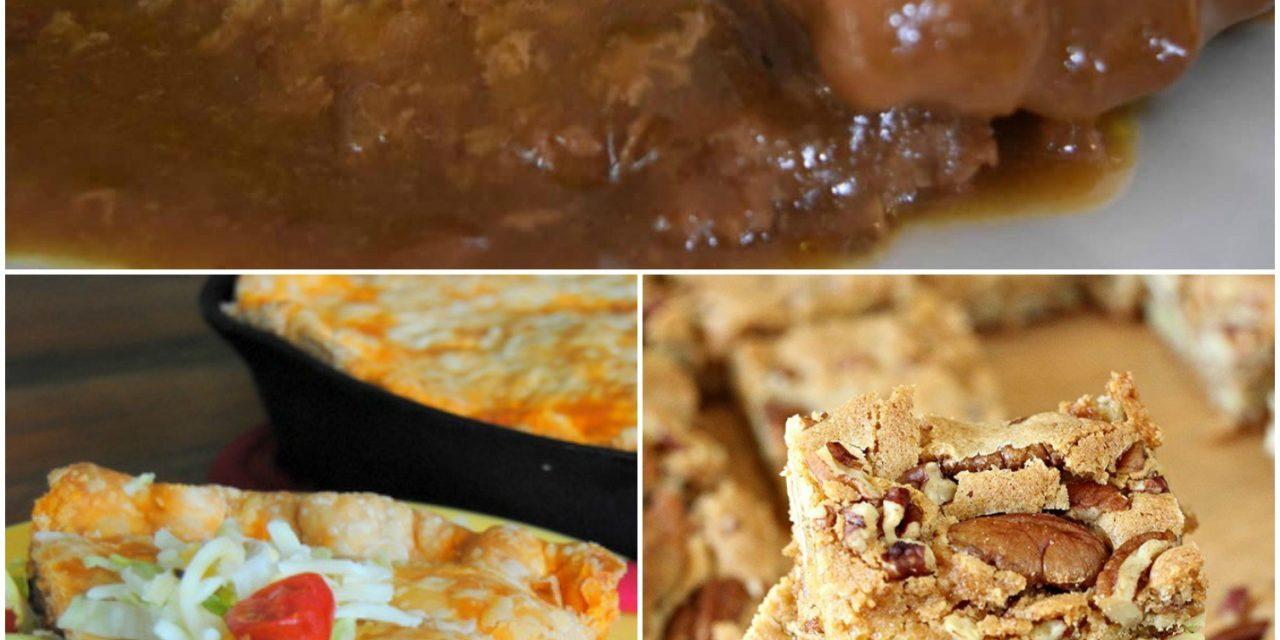 Meal Plan Monday #61 ~ Crock Pot Country Steak & Gravy