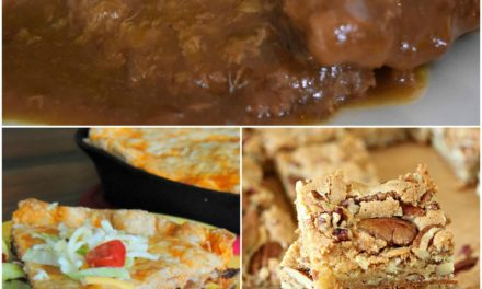 Meal Plan Monday #61 ~ Crock Pot Country Steak & Gravy