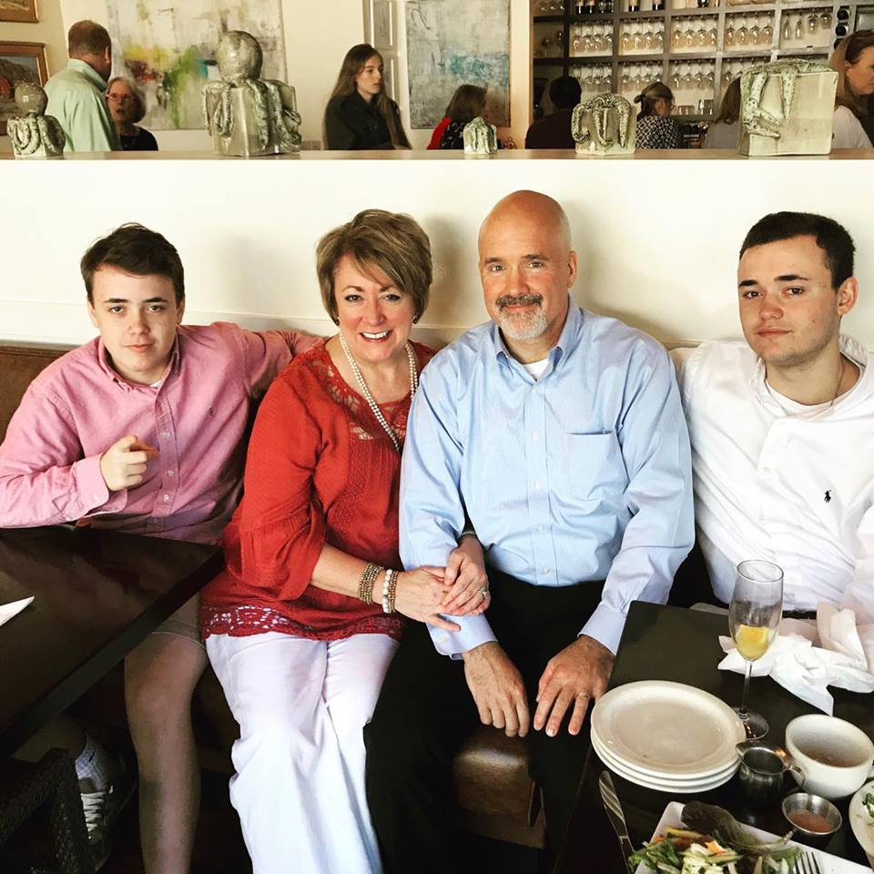 Family Lunch on Mother's Day 2017