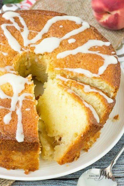 Meal Plan Monday #67 ~ Fresh Peach Pound Cake