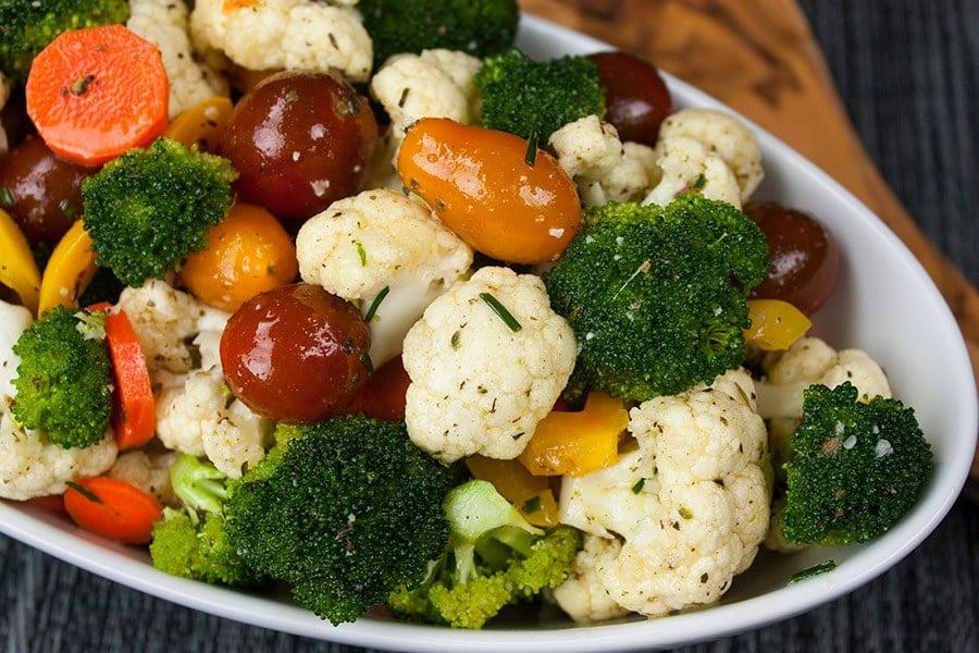 Meal Plan Monday #70 ~ Marinated Fresh Vegetable Salad