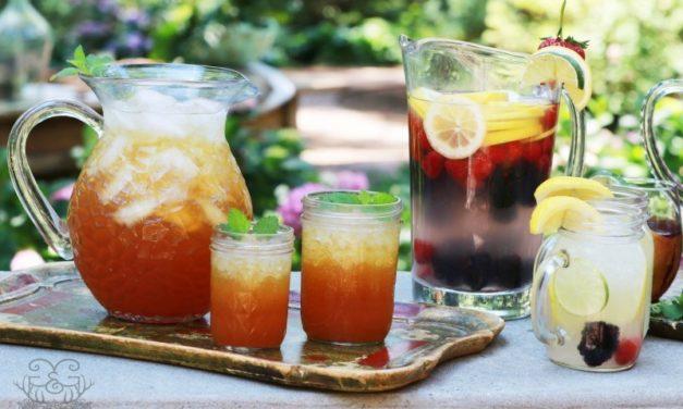 Meal Plan Monday #69 ~ Peach Iced Tea