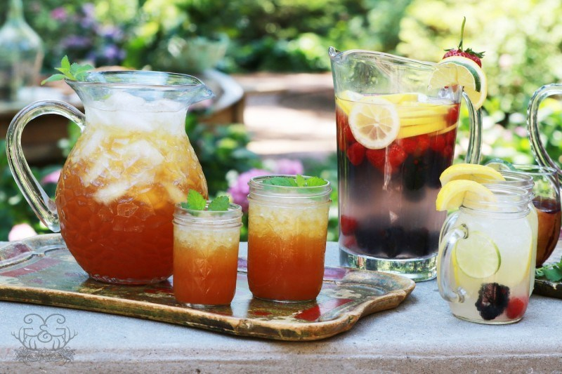 Meal Plan Monday #69 ~ Peach Iced Tea