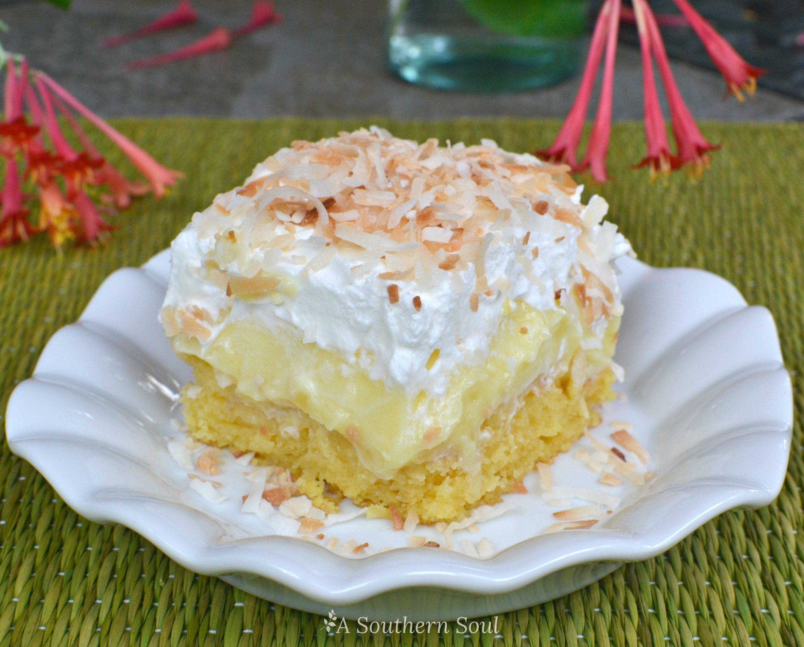 Southern Coconut Cake Recipe With Coconut Milk