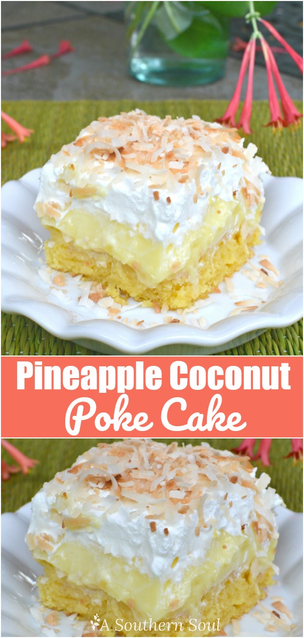 Pineapple Coconut Cake From Mix