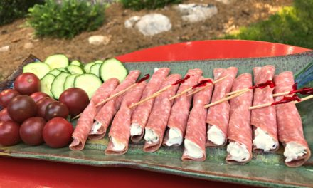 Salami & Cream Cheese Appetizer