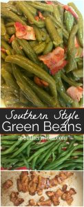 southern style green beans to PIN