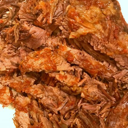 3 Ingredient Oven Cooked Beef Brisket