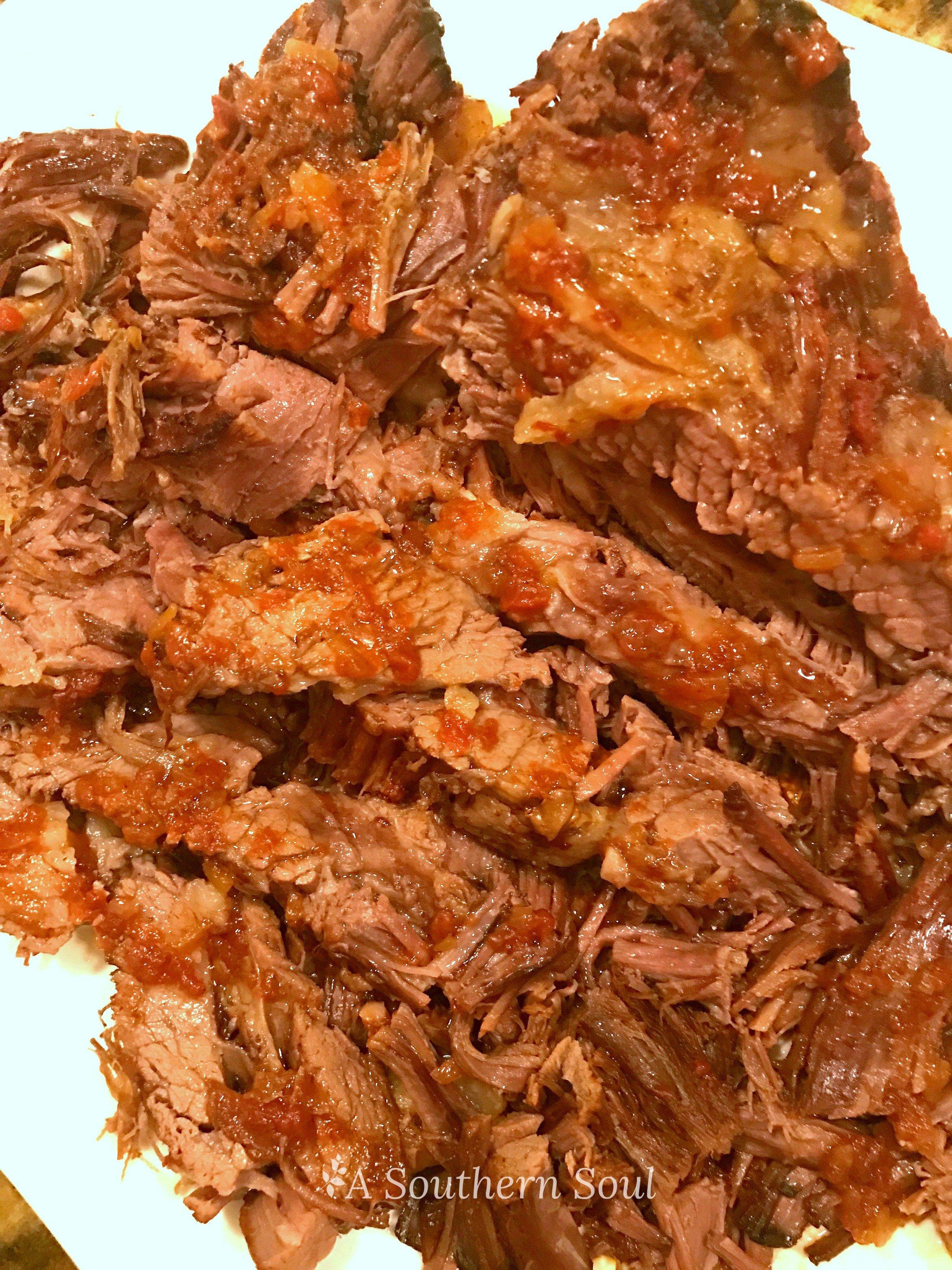 oven cooked beef brisket