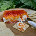 red pepper jelly and cream cheese