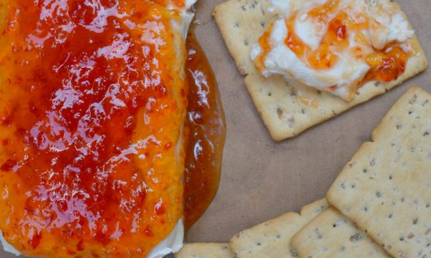 Pepper Jelly & Cream Cheese Appetizer