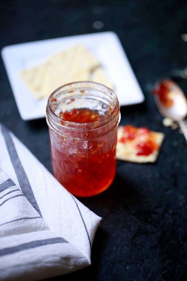 red pepper jelly from Stacy Lyn