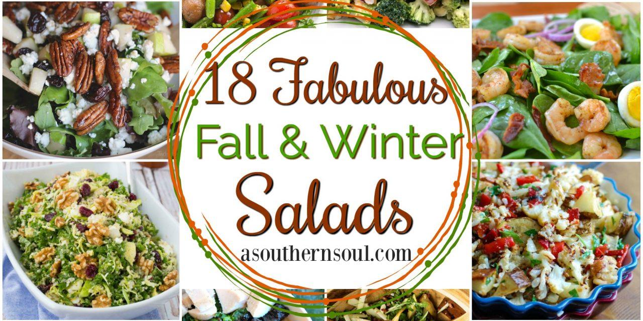 18 Fabulous Fall & Winter Salad Recipes