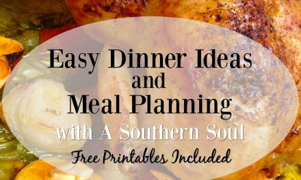 Easy Dinner Ideas and Meal Planning • FREE Crockpot Conversion Chart