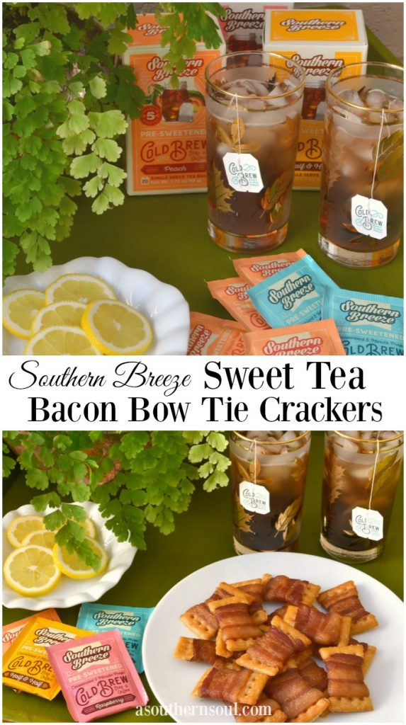 southern breeze tea and crackers with a southern soul