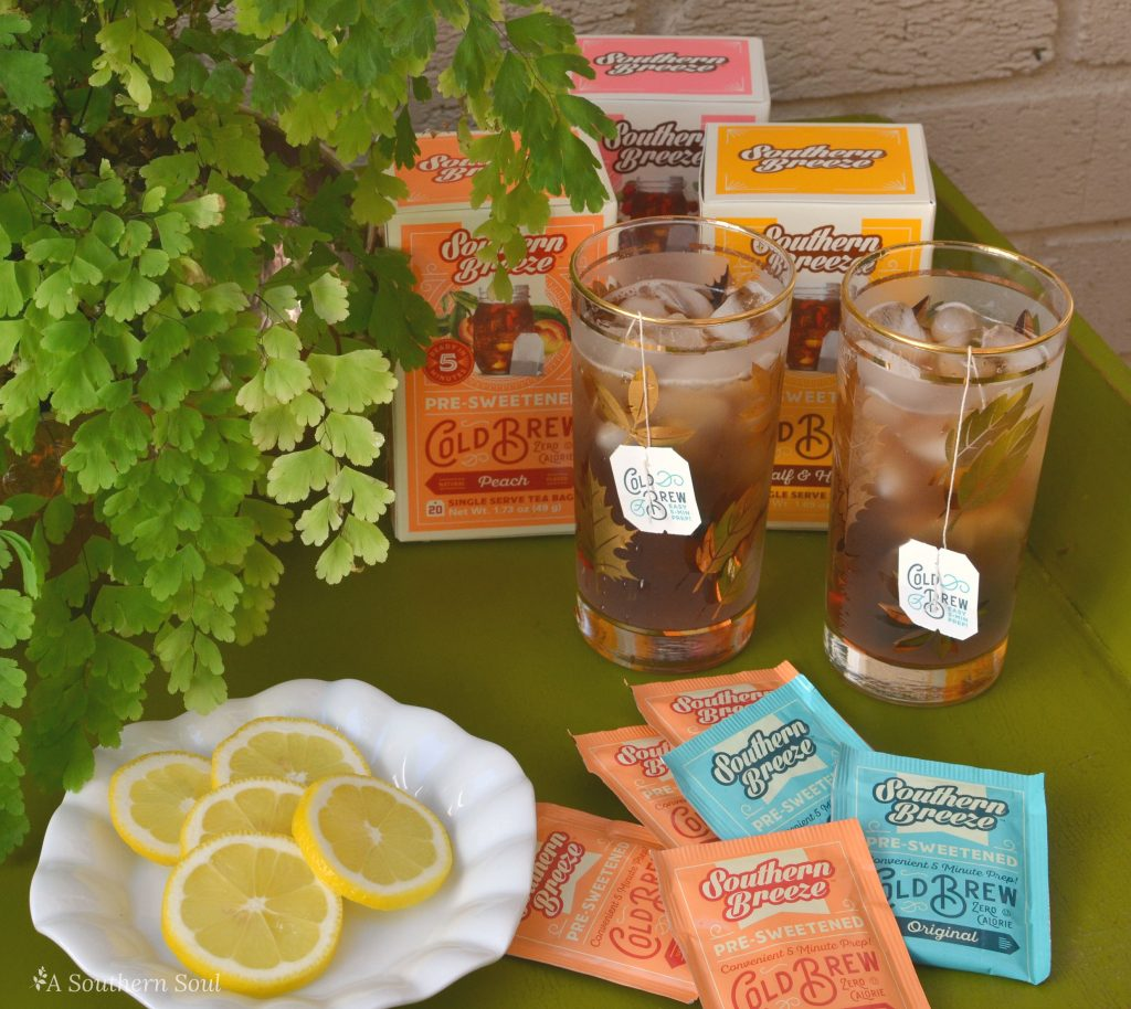 southern breeze sweet tea with a southern soul