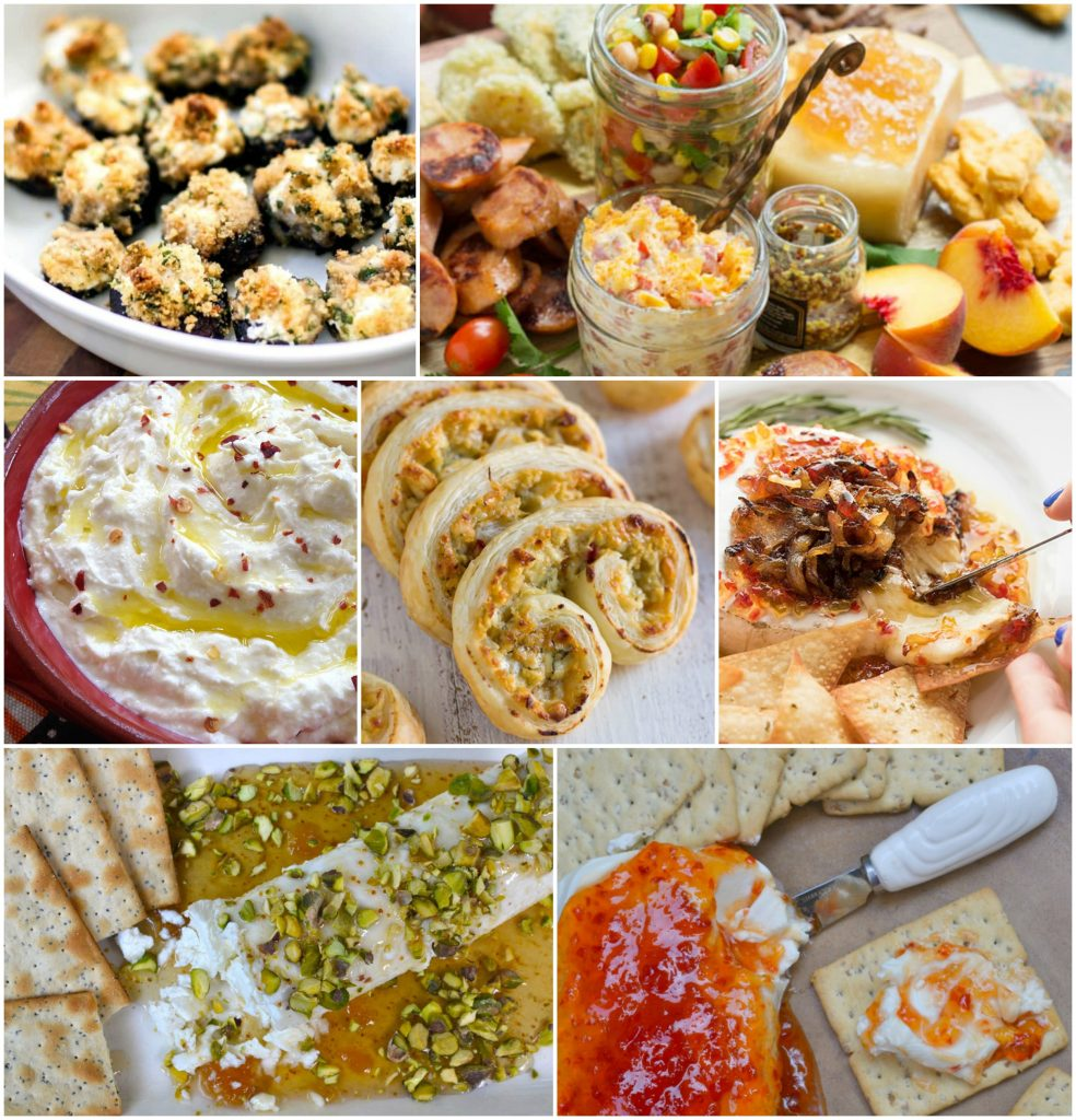 cheese festive appetizers