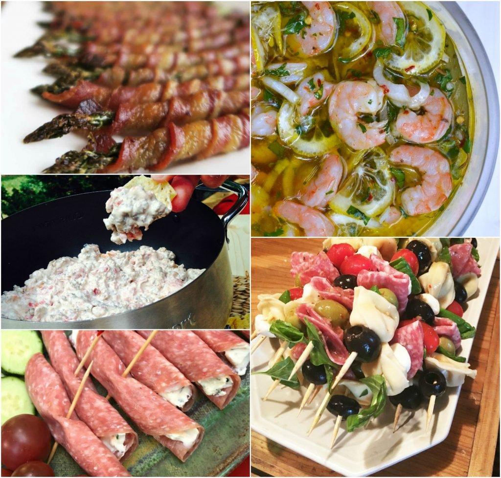 savory festive appetizers