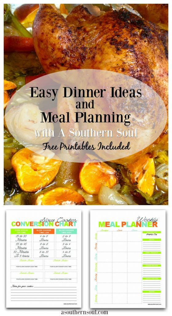 easy dinner ideas from a southern soul