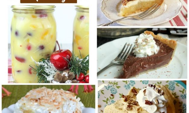 Meal Plan Monday ~ Thanksgiving Desserts