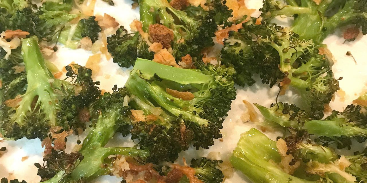 Super Easy Roasted Broccoli