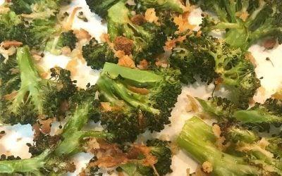 Super Easy Roasted Broccoli