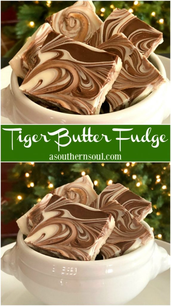 tiger butter fudge PIN