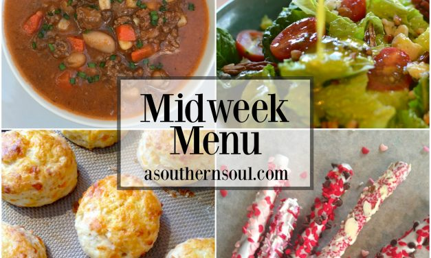 Mid Week Menu #4 ~ Beef & Bean Slower Cooker Soup