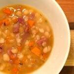 ham bean soup slow cooker