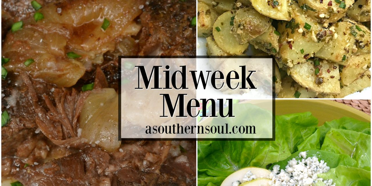 Midweek Menu #3 ~ Busy Day Pot Roast
