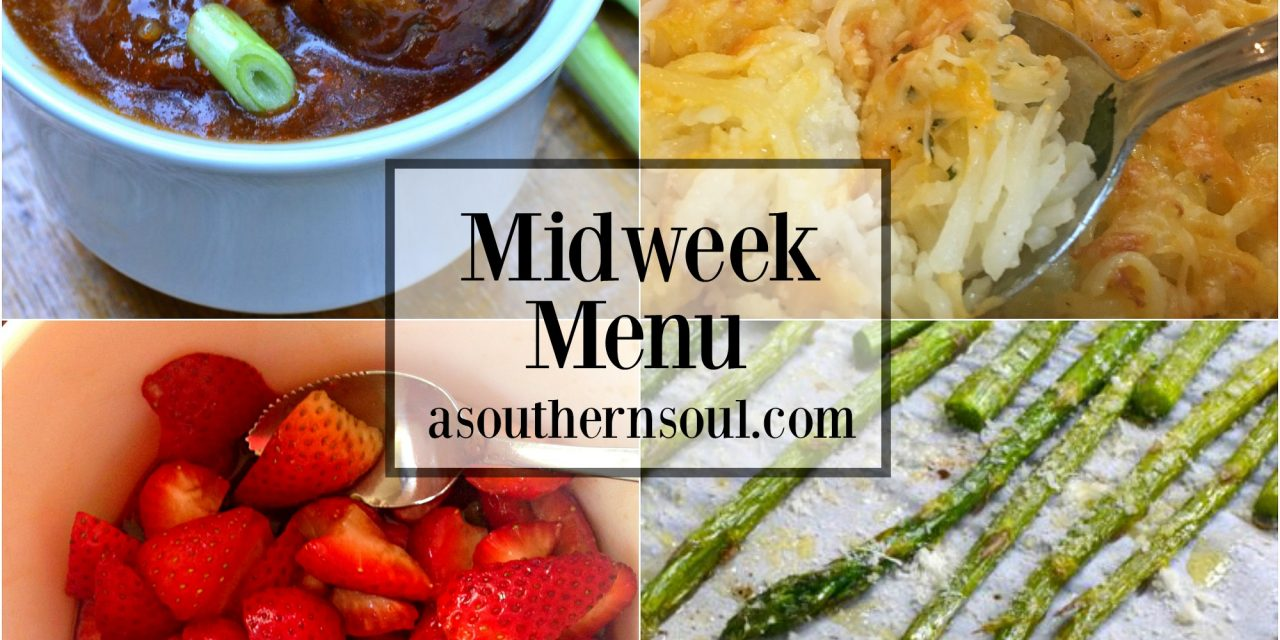Midweek Menu #5 ~ Barbecued Meatballs