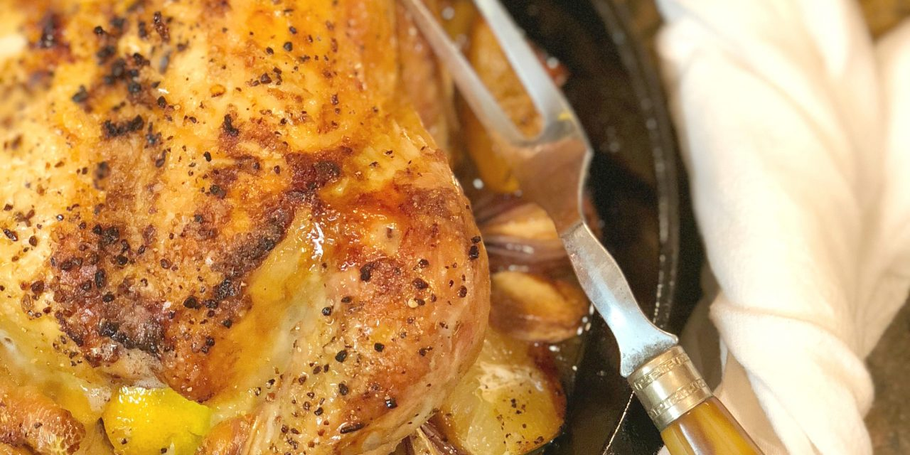 Perfect Lemon Roast Chicken