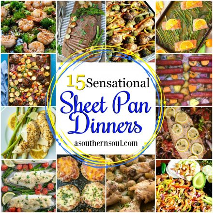 15 Sensational Sheet Pan Dinners