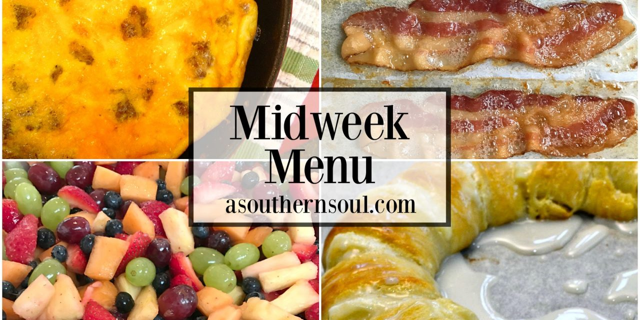 Midweek Menu ~ Breakfast for Dinner