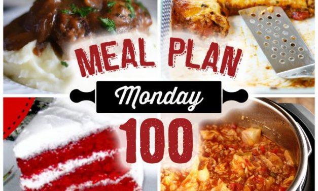 Meal Plan Monday #100