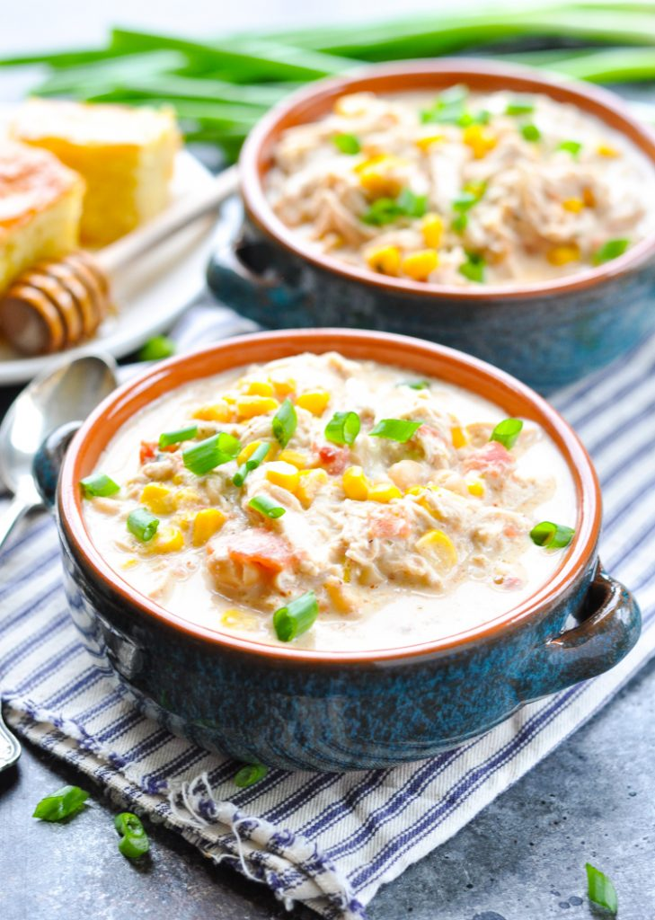 White Chicken Chili Crockpot Recipes Low Carb
