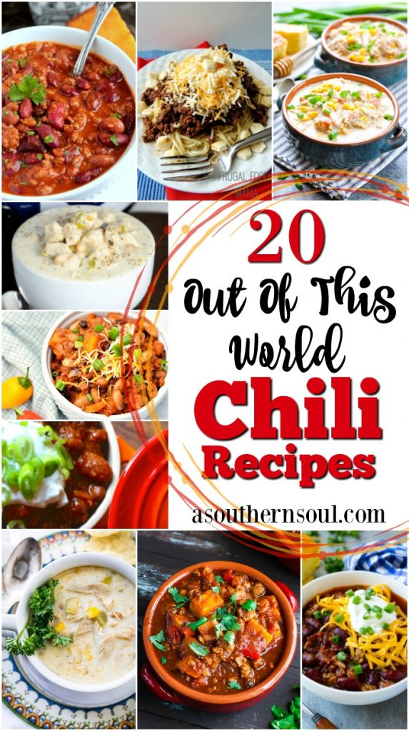 20 out of this world chili recipe round up