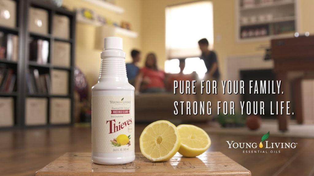 young living, essential oils, thieves household cleaner