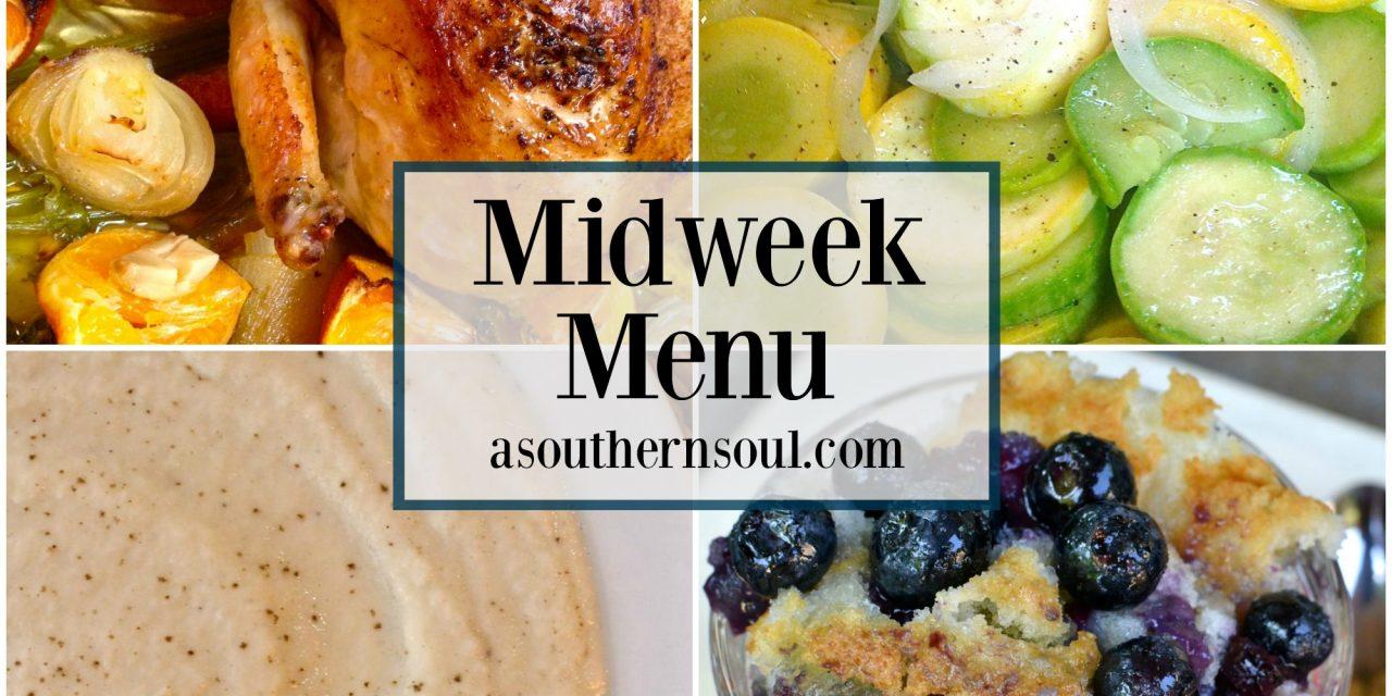 Midweek Menu #7 ~ Roast Chicken With Clementines