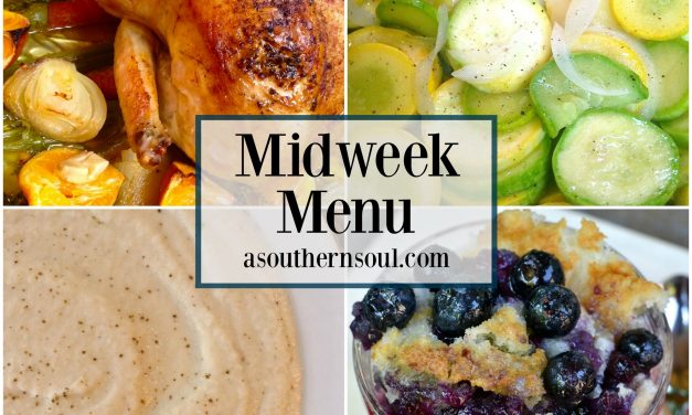 Midweek Menu #7 ~ Roast Chicken With Clementines
