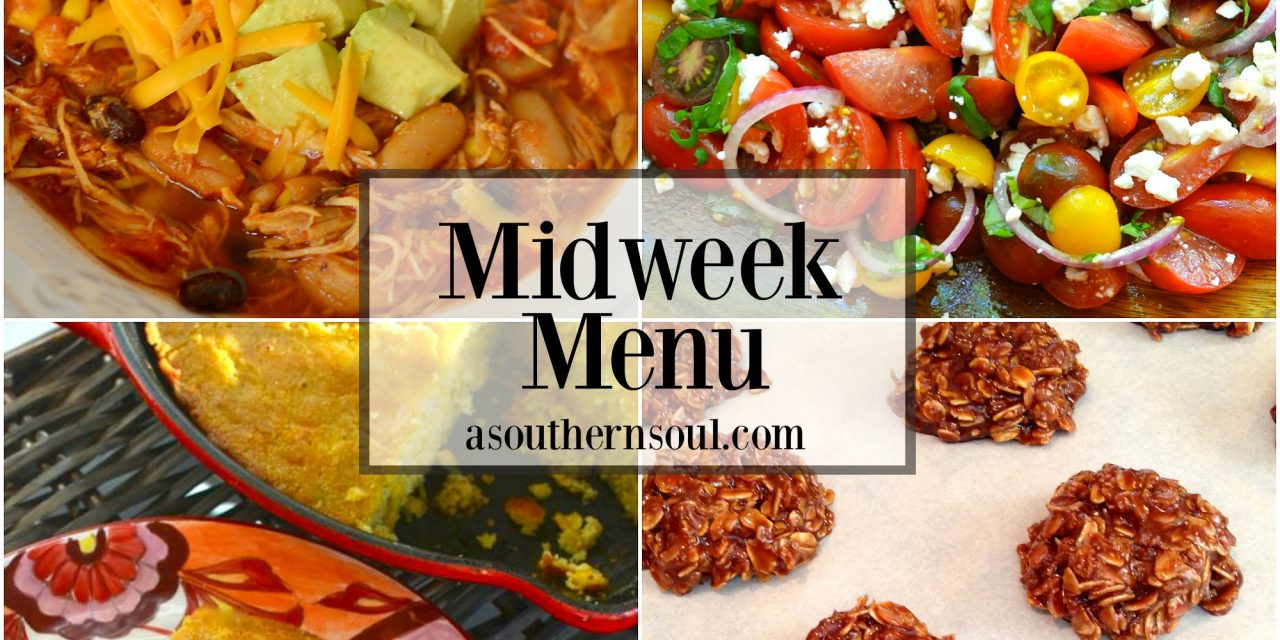 Midweek Menu #6 ~ Crock Pot Taco Soup