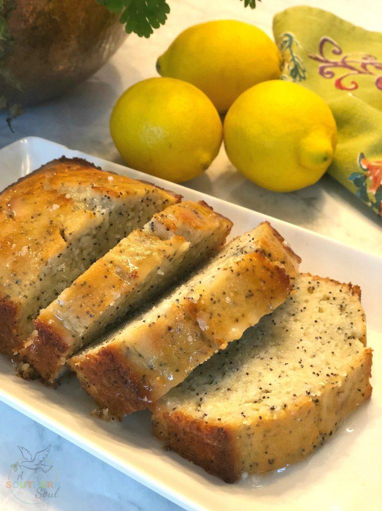 poppy seed cake, desserts, sweets, lemon, lemon zest