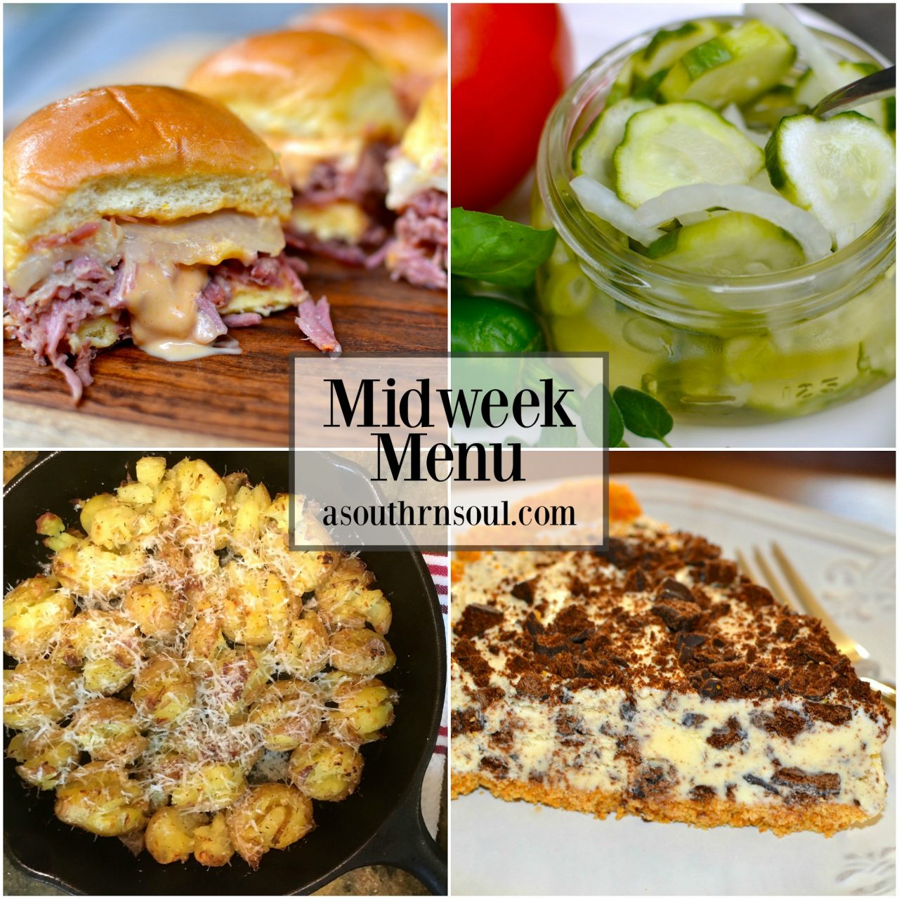 Midweek Menu #10 ~ Crock Pot Corned Beef Reuben Sliders