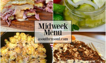 Midweek Menu #10 ~ Crock Pot Corned Beef Reuben Sliders