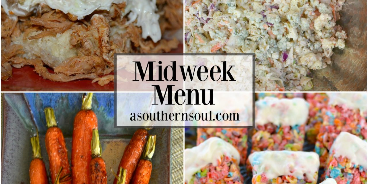 Midweek Menu #11 ~ Pulled Pork Sliders