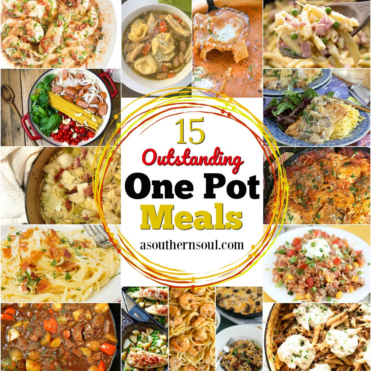 15 Outstanding One Pot Meals