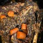 irish pot roast made with guinness stout, carrots and garlic